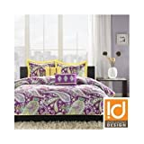 Twin Xl Comforter Set Teen Dorm Purple Paisley - Best Reviews Guide