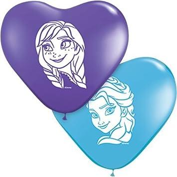 Lote de 100 globos Frozen de Disney Frozen Anna y Elsa ...