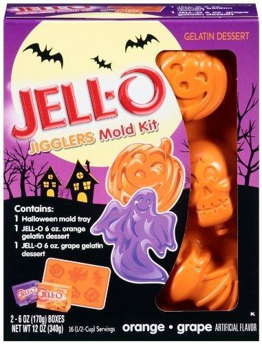 JELLO-O Jigglers Halloween Mold Kit (Pack of 2)