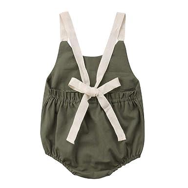 Koolee_Baby Clothes Traje de baño sin Espalda para niñas ...