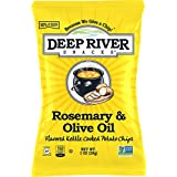 Deep River Snacks Rosemary & Olive Oil Kettle Cooked Potato Chips, 1-Ounce (Pack of 80)