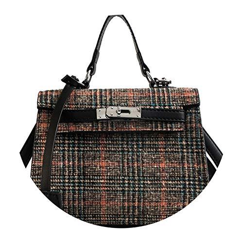 Vuitton Organizer Louis Zippy (Winter Women Shoulder Bag Luxury Handbag Famous Wool Crossbody Bags Bolsa Sac,Pink,Mini(Max Length<20cm))