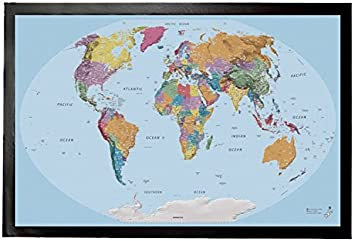 Amazon 1art1 maps door mat floor mat world map 2015 1art1 maps door mat floor mat world map 2015 edition in english gumiabroncs Image collections