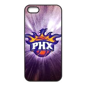 Phoenix Suns NBA Black Phone Case for iPhone 5S Case
