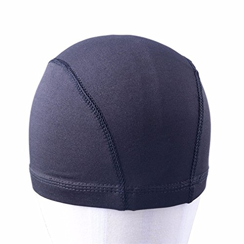 6Pcs Glueless Hair Net Wig Liner Cheap Wig Caps For Making Wigs Spandex Net Elastic Dome Wig Cap by HGNBH