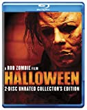 Halloween (Two-Disc Unrated Collector's Edition) [Blu-ray] cover.