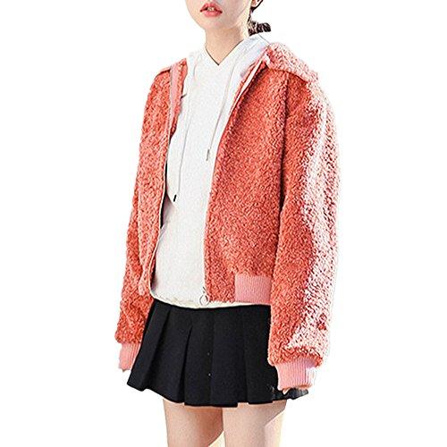 Fashion maker(F&M)ジャケット レディース コート ブルゾン ライダース フェイクムートン ショート丈 もこもこ ふわふわ おしゃれ 可愛い 全2色 大きいサイズ