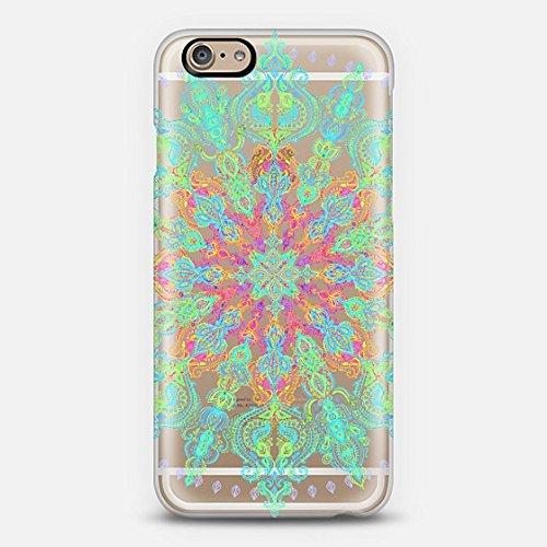 Casetify Bohemian Rainbow iPhone 6 Case (Frosty White)