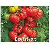 Beefsteak Organic Heirloom Tomato Seeds 100 Plus by BluSeeds