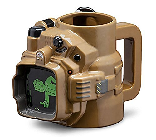 Fallout Pip Boy Ceramic Mug | 48 Ounce | Fallout Collectors Edition