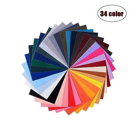 Global Mai Pegatinas de Parche Autoadhesivas-Parche de Nylon, 34 Trajes de Color, Adecuados Para Mochilas de Tela Lisa, Carpas, Paraguas y Otros ...