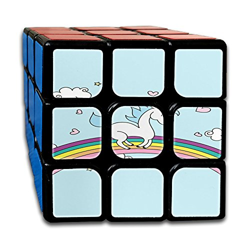 Unicorn Horse Non-toxic Durable Lightweight Twist Easy Toys Gift Cube Magic Cube 3x3x3 For Men&women Kids