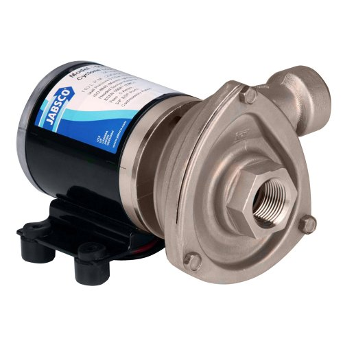 Jabsco - 50840-0012 - Stainless Steel 5/32 HP Centrifugal Pump, Phase, 12VDC Voltage primary