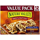 Nature Valley Sweet & Salty Nut Peanut & Almond Variety Pack Granola Bars, 1.2 oz, 12 count