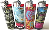 Flick My BIC Full Size Lighters Set of 4