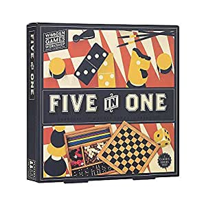 Five in One - Wooden Games