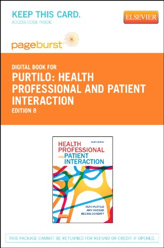 Health Professional and Patient Interaction - Elsevier eBook on VitalSource (Retail Access Card), 8e
