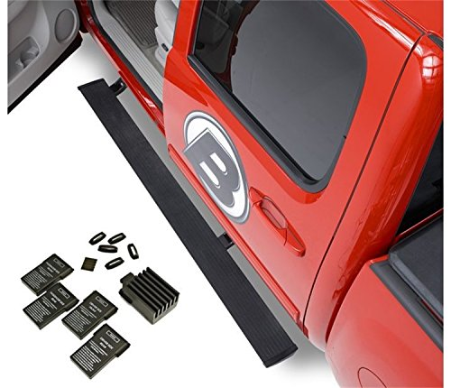 Bestop 75626-15 PowerBoard NX Retractable Running Board Set for 2007-2018 Chevy Silverado/GMC Sierra 1500/2500/3500 Crew Cab (Except 2011-2018 Diesel Engine Models)
