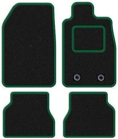 RED TRIM Rmsone GENUINE FULLY TAILORED BLACK CARPET CAR MATS POLO 2002-2009