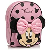 Disney Minnie Mouse Backpack (Pink/Black)
