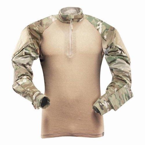 TRU-SPEC Men's Tru Xtreme Nylon Cotton Rip Stop Combat Shirt, Multicam, XX-Large