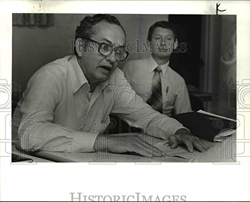 1982 Press Photo Jack Webb - cva45160 - 8 x 10 in. - Historic Images