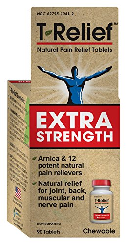 T-Relief Extra Strength Pain Relief Tablets, 90 Count Extra Strength Strength 90 Tabs