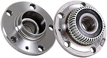 PAIR Rear Wheel Hub Bearing Assembly For AUDI TT 2000-2006