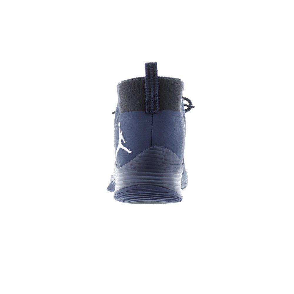 9 Midnight Navy//Metallic Silver-Black Nike Mens Jordan Ultra Fly 2 TB