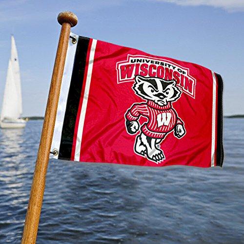 ウィスコンシン大学アナグマボートとNautical Flag B07CMBP82G 13744