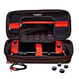 Satisfye - Accessories Bundle Compatible with the Nintendo Switch - Elite Bundle, The Switch Grip Case includes: Switch Grip, Switch Case and a Low Profile USB C charging cable. BONUS: 4 Thumbsticks