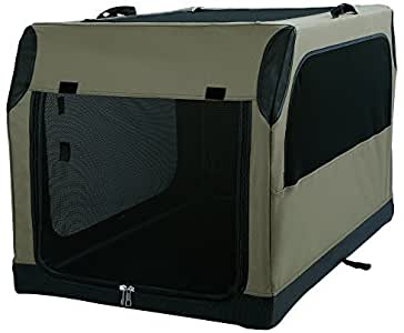 A4Pet Soft Collapsible Dog Crate and Kennel with Leak Proof Bottom for Indoor or Travel Use