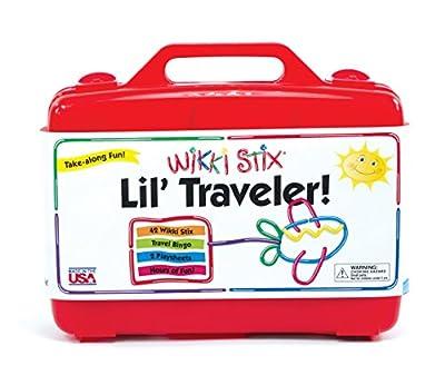 Wikki Stix Lil' Traveler Playset, 6-Inch Stix