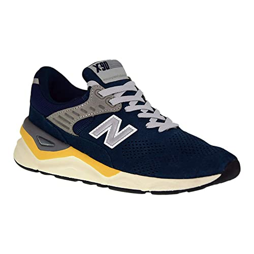 d7bc7573e4c14 New Balance X90 Trainers Blue: Amazon.co.uk: Shoes & Bags