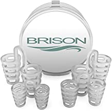 Anti Snoring by BRISON - Stop Snore Nose Vents Sleep Aid Device for Natural and Comfortable Sleep, Instant, Fast and Safe Snore Relief (Nose Vents)