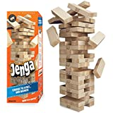 Jenga GIANT Genuine Hardwood Game (Stacks to 4+ feet. Ages 8+)