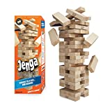 Jenga GIANT Genuine Hardwood Game (Stacks to 4+ feet. Ages 8+)