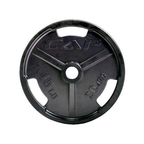 CAP-Barbell-2-Rubber-Coated-Grip-Plate-Black-10-lbs