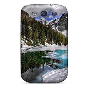 New Fashionable Mtwilliam Kjs9210KBzI Cover Case Specially Made For Galaxy S3(reflection In River In Winter)