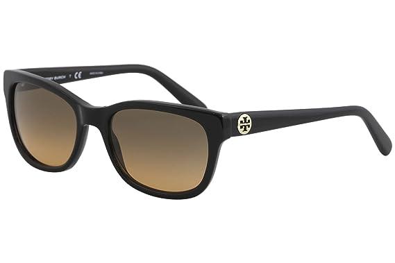 efb6f607a7a7 Amazon.com: Tory Burch Sunglasses - TY7044 / Frame: Black Lens: Grey ...