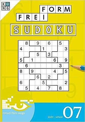 Freiform Sudoku 07 Freiform Sudoku Taschenbuch Logik Rätsel