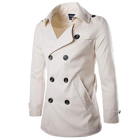 LiquidacióN Hombres OtoñO Invierno Doble Fila BotóN Abrigo Top Blusa Chaqueta Hombres Jacket Outerwear Blazer Hombre Casual Chaqueta Jacket Cazadora Mangas ...
