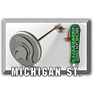 Michigan State Spartans barbacoa marca hierro | barbacoa ventiladores