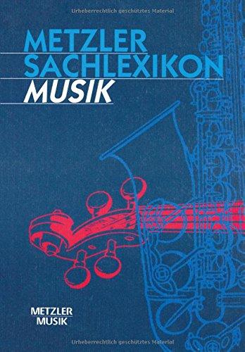 Metzler Sachlexikon Musik