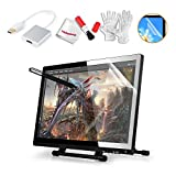 Ugee 19' Graphics Drawing Pen Tablet Monitor with Screen Protector and Pergear Clean Kit
