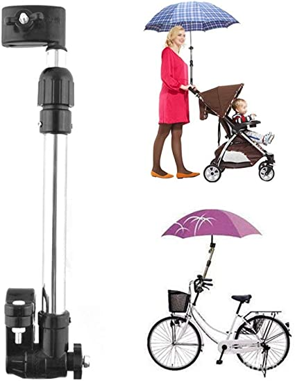 Amazon.com: qiyat paraguas soporte de bicicleta ajustable ...