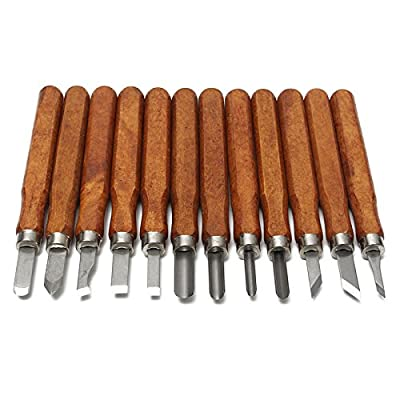 Wld-16pcs/set Woodcut Knife DIY Tools Engrave Hand Carving Wood Chisel Woodworking Graver Whetstone