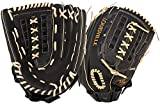 Louisville Slugger 13-Inch FG Dynasty Softball Infielders Gloves, Black, Right Hand Throw