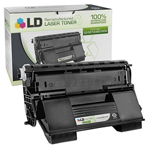 LD Remanufactured Replacement for Okidata 52123601 Black Laser Toner Cartridge for use in Okidata OKI B710dn, B710n, B720dn, B720n, B730dn, and B730n Printers
