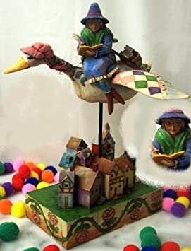Jim Shore Rhyme Time Mother Goose Figurine by IWDSC